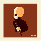 "Tom Whalen ""band'd : 4"" Metal Print"