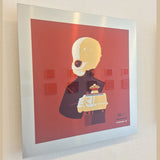 "Tom Whalen ""band'd : 5"" Metal Print"