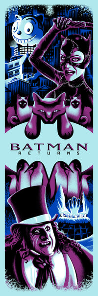 "Ryan Brinkerhoff ""Batman Returns"" Print"