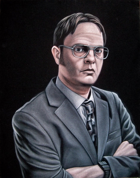 "Bruce White ""Dwight Schrute"""