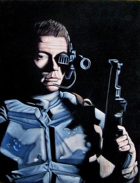 "Bruce White ""Universal Soldier"""