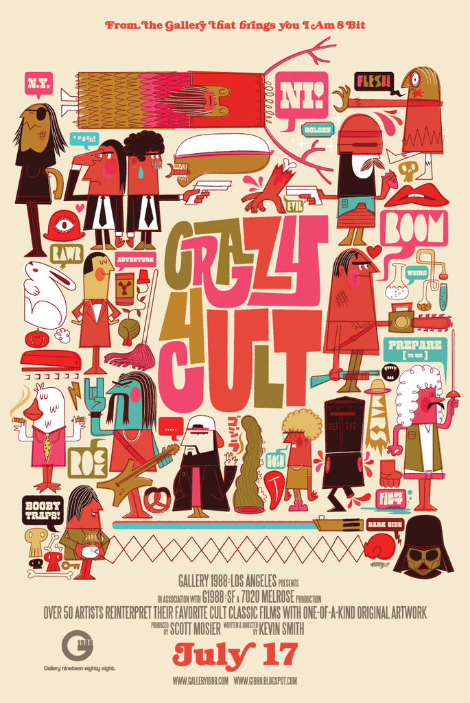 ".Chris Lee ""Crazy 4 Cult"" Poster"