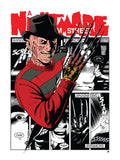 "Matthew Skiff ""A Nightmare on Elm Street"" Print"