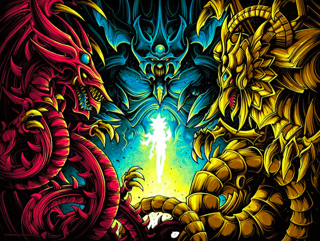 "Dan Mumford ""Behold, The Legendary Gods."" Print"