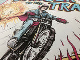 "Barry Blankenship ""Danger on the Track"" Print"