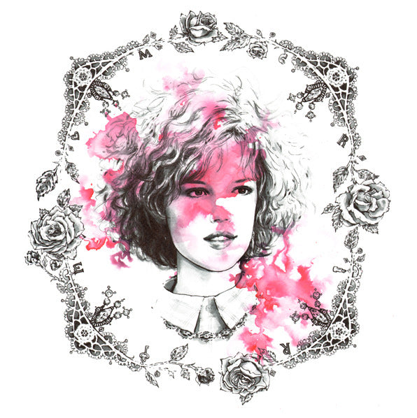 "Nicole Guice ""The Color That Never Fades : Pretty in Pink Portrait"" Print"