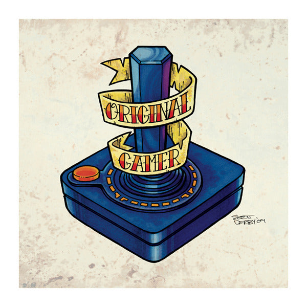 "Scott Derby ""OG: Original Gamer"" Print"
