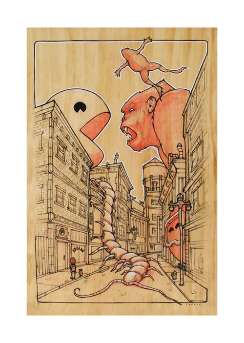 "Roland Tamayo ""Battle For My Affection"" Print"