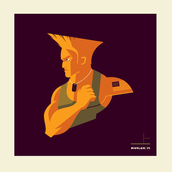 "Tom Whalen ""flash kick'd"" Print"