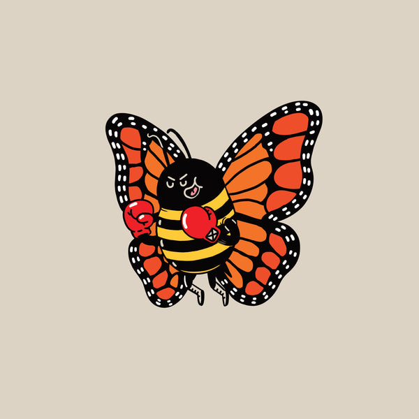 "Alex Solis ""Float Like A Butterfly, Sting Like A Bee"" Print"