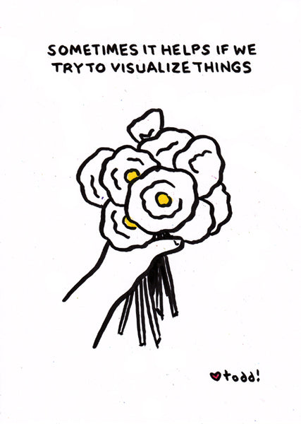 "Toddbot - Todd Webb ""Flower - Visualize Things"""