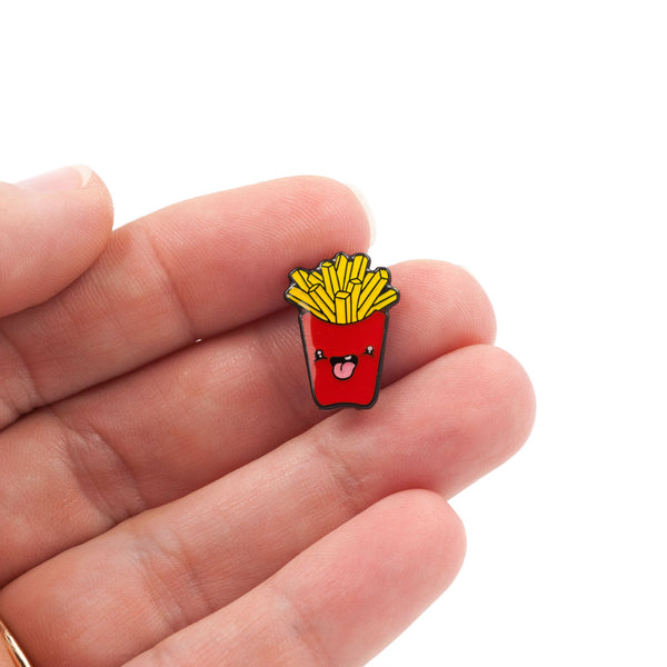 "Ed Mironiuk x Little Shop of Pins ""Fries"" Pin"