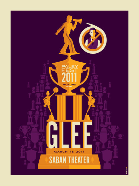 "Tom Whalen ""PaleyFest2011 Honors Glee"" Print"
