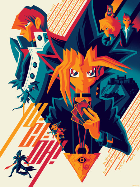 "Tom Whalen ""King of Games"" Print"