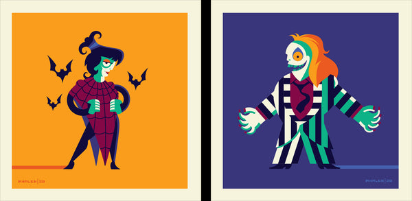 "Tom Whalen ""Ghostly hauntings I turn loose..."" Print Set"