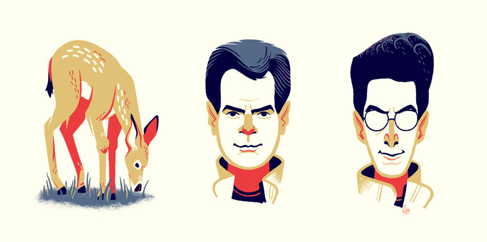"Glen Brogan ""Doe Ray Egon"" Print"