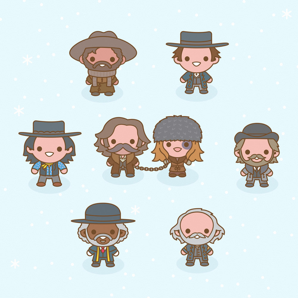 "100% Soft ""Hateful Eight"" Print"