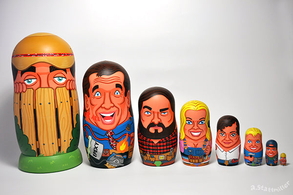 "Andy Stattmiller ""Home Improvement Nesting Dolls"""