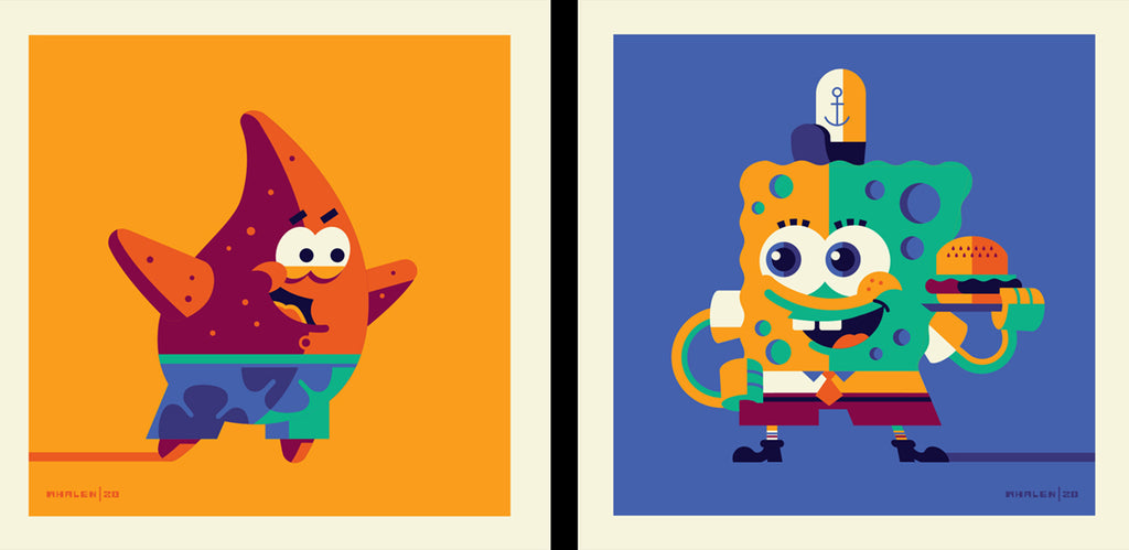 "Tom Whalen ""If nautical nonsense be something you wish..."" Print Set"