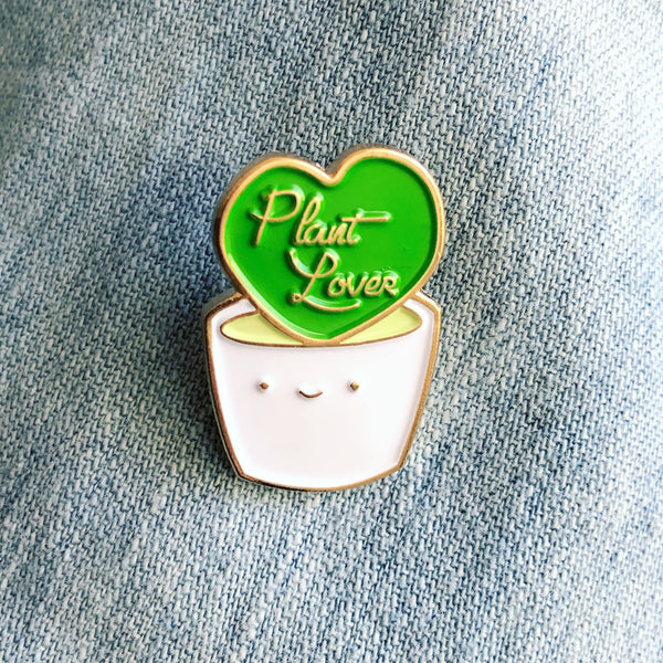 "ilootpaperie ""Plant Lover"" Pin"