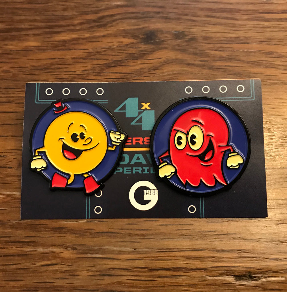 "Dave Perillo ""Pac Vs Blinky"" Pin set"