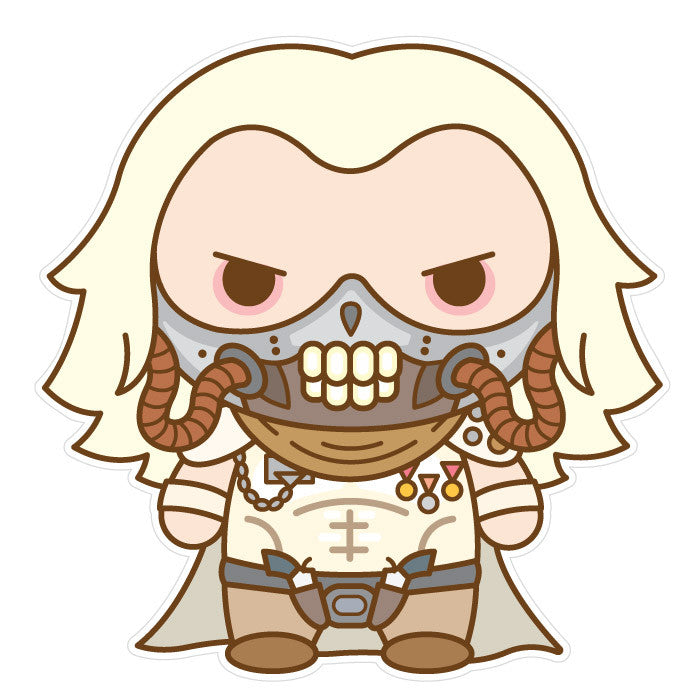 "100% Soft ""Immortan Joe"" Foam Cut-Out"