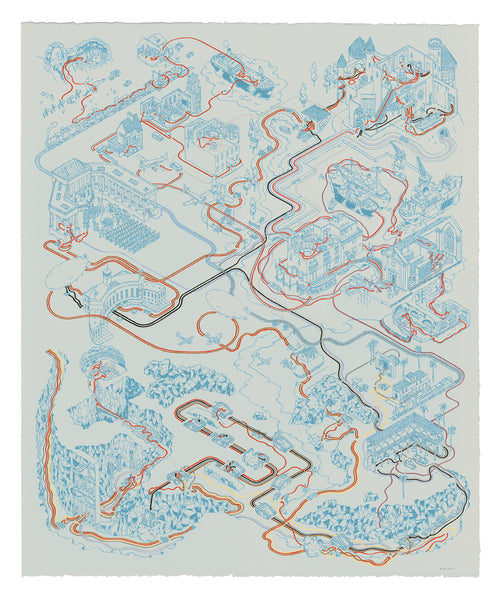"Andrew DeGraff ""Paths of Crusade (Variant)"" Print"