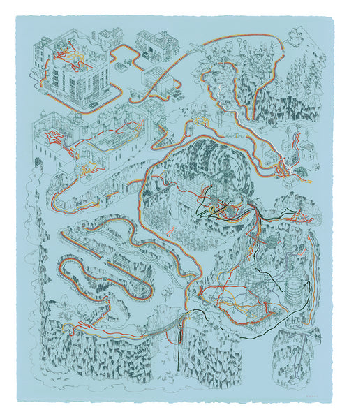 "Andrew DeGraff ""Paths of Doom (Variant)"" Print"