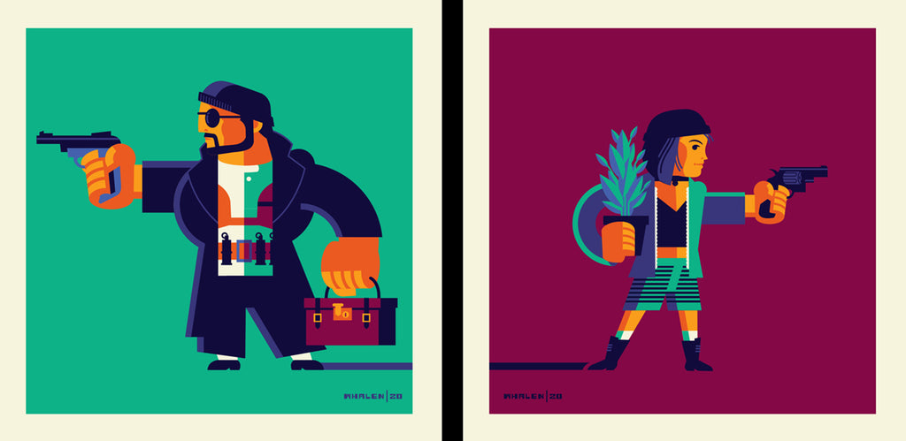 "Tom Whalen ""Is life always this hard, or is it just when you're a kid?"" Print Set"