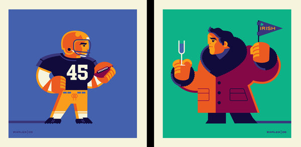 "Tom Whalen ""I've been ready for this my whole life."" Print Set"