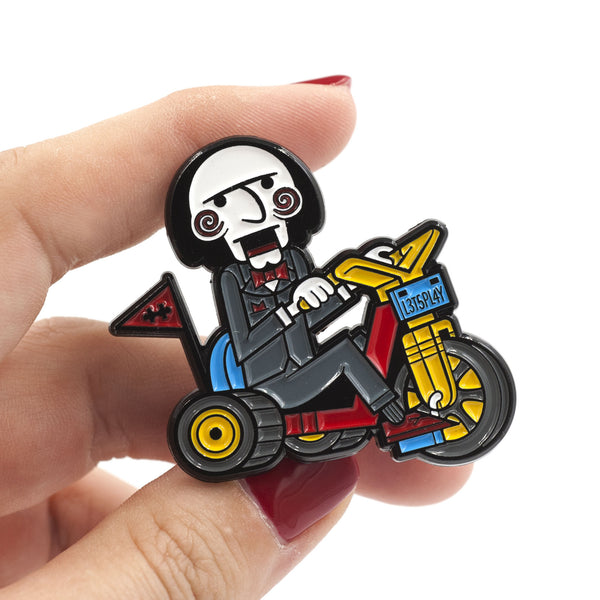 "Little Shop of Pins ""Let's Play Jigsaw"" Pin"