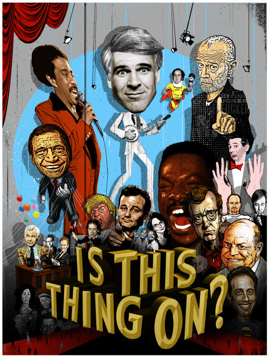 "Jon Smith ""Is This Thing On?"" Poster"