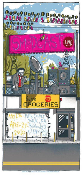 "Drew Millward ""SModcast 4/26 & 4/27 (Signed)"" Print"