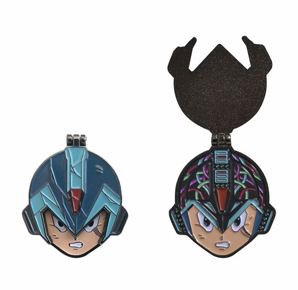 "@eternal1984 ""Megaman X Flip"" Pin"