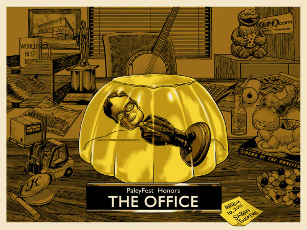 "Jason Edmiston ""PaleyFest2012 Honors The Office"" Print"