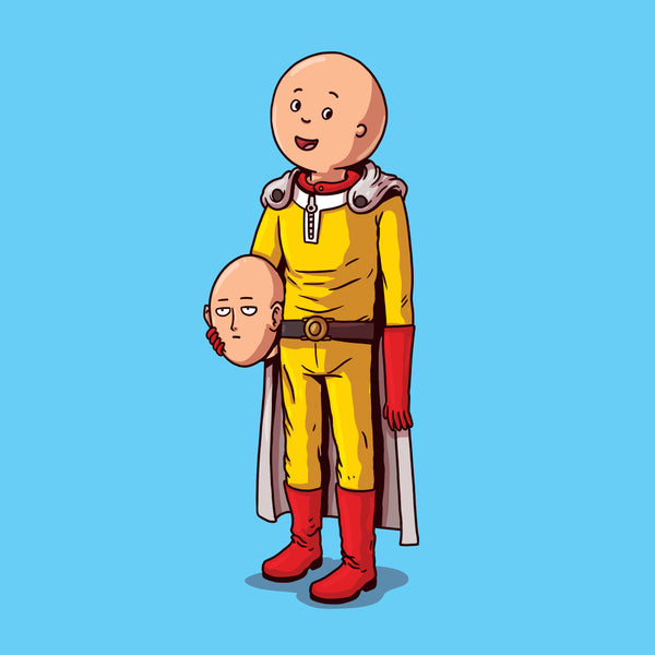 "Alex Solis ""One Punch Man Unmasked"" Print"