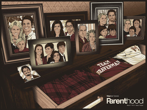 "Anthony Petrie ""PaleyFest2013 Honors Parenthood"" Print"