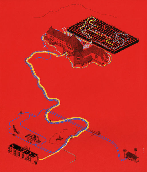 "Andrew DeGraff ""Paths of the Torrances"" Print"
