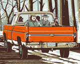"Matt Talbot ""Leaving Wichita"" Print"