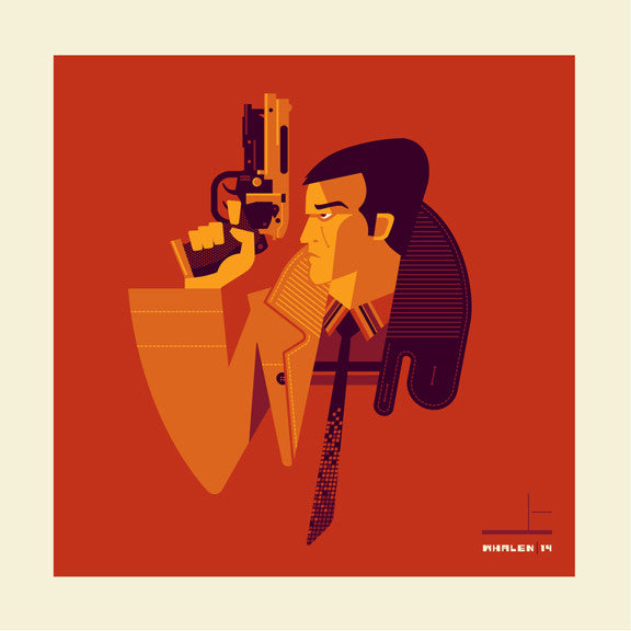 "Tom Whalen ""replicat'd"" Print"