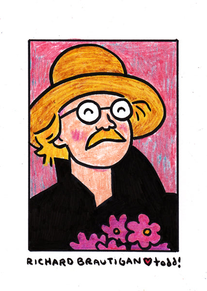 "Toddbot - Todd Webb ""Richard Brautigan"""