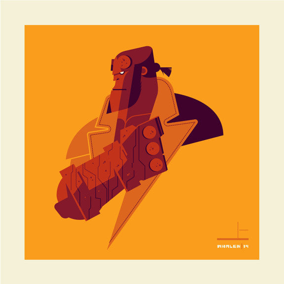 "Tom Whalen ""right hand'd"" Print"