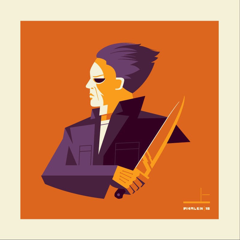 "Tom Whalen ""shape'd"" Print"