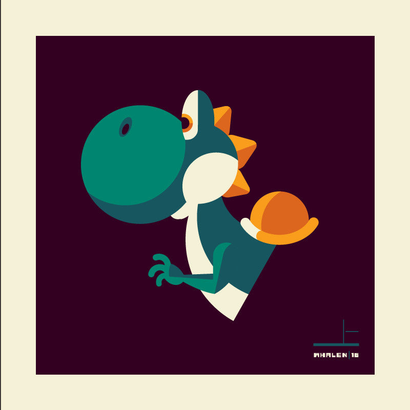 "Tom Whalen ""sidekick'd"" Print"