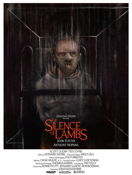 "Andy Rowland ""The Silence of the Lambs"" Print"