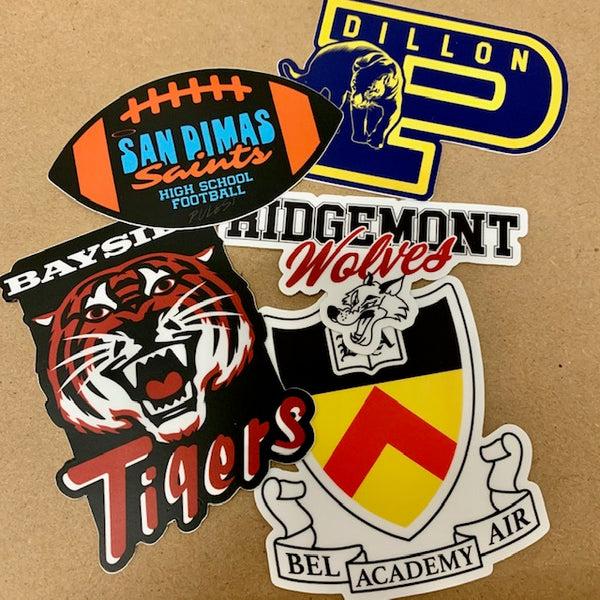 "Jeff Boyes ""Rival Schools"" Sticker Pack"