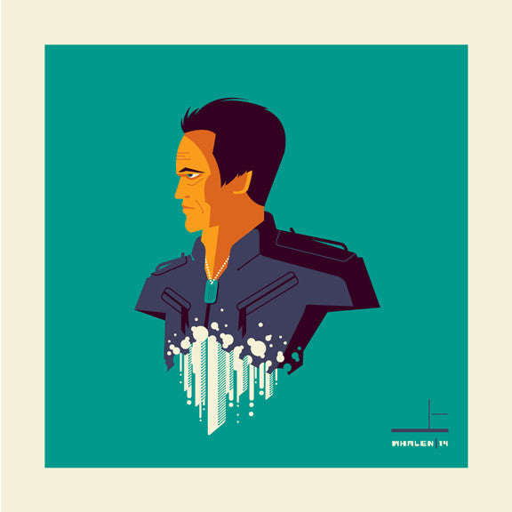 "Tom Whalen ""synthesiz'd"" Print"