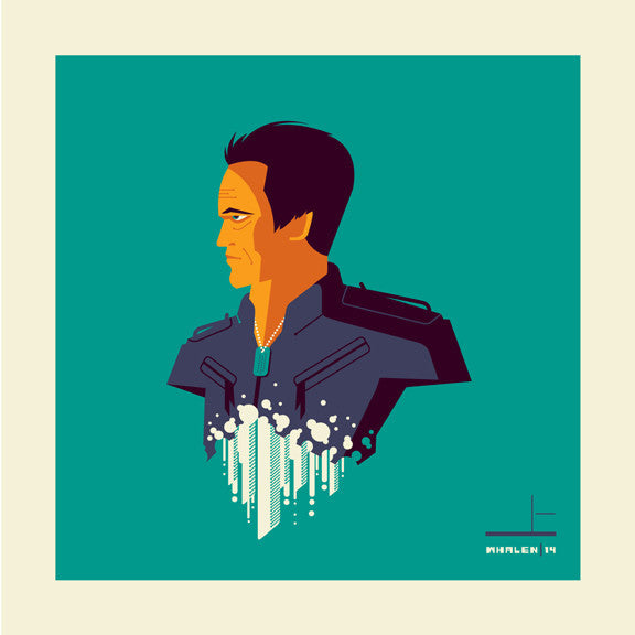 "Tom Whalen ""synthesiz'd"" Framed Print"