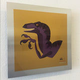 "Tom Whalen ""tame'd : 1"" Metal Print"