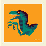 "Tom Whalen ""tame'd : 2"" Metal Print"